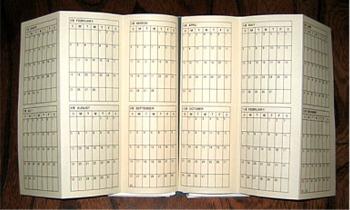 年間計画表(2007年版)