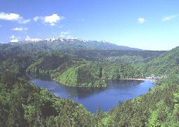 森吉山と太平湖