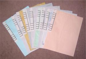 書類整理用封筒の作成